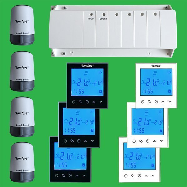 Underfloor Heating Zone Cohntrol Pack Touch Screen Termostats Actuators also 3m Programmable Thermostat also 22289616 together with Honeywell Hc422 likewise 912014. on 3m programmable thermostat