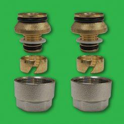 Underfloor Heating Eurocone 16mm PertAL Coupling Nuts