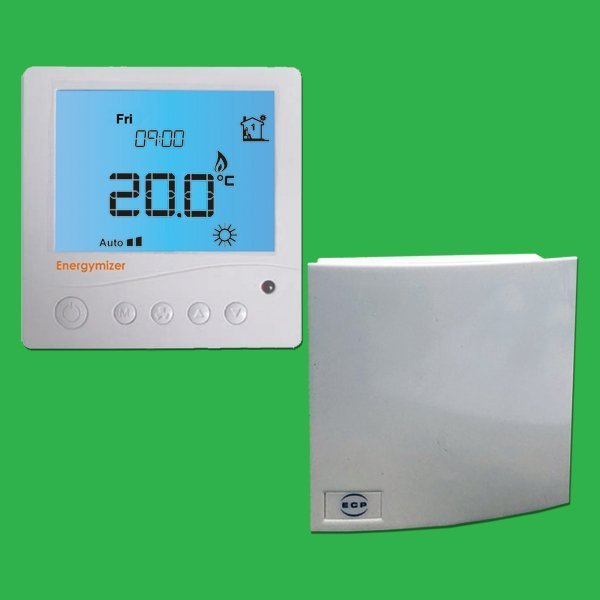 UFH Bathroom Programmable Thermostat with Remote Air Sensor