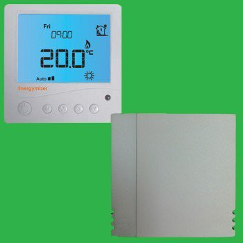 Ufh Bathroom Programmable Thermostat With Remote Air