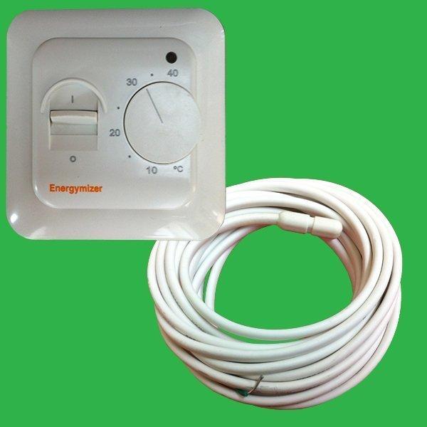 Thermostat Sensor Probe Underfloor Heating Floor Temperature Reading heating