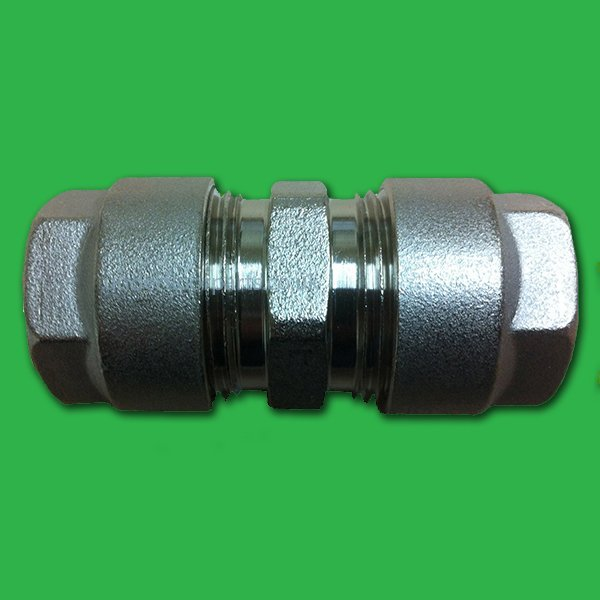 Adaptor fitting for plastic pipe mm copper