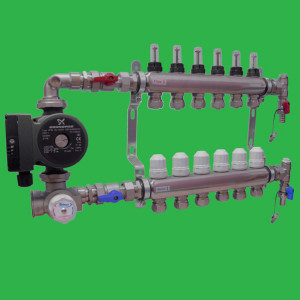 Underfloor Manifolds and Accessories