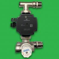 Reliance Underfloor Thermomix and Grundfos Pump