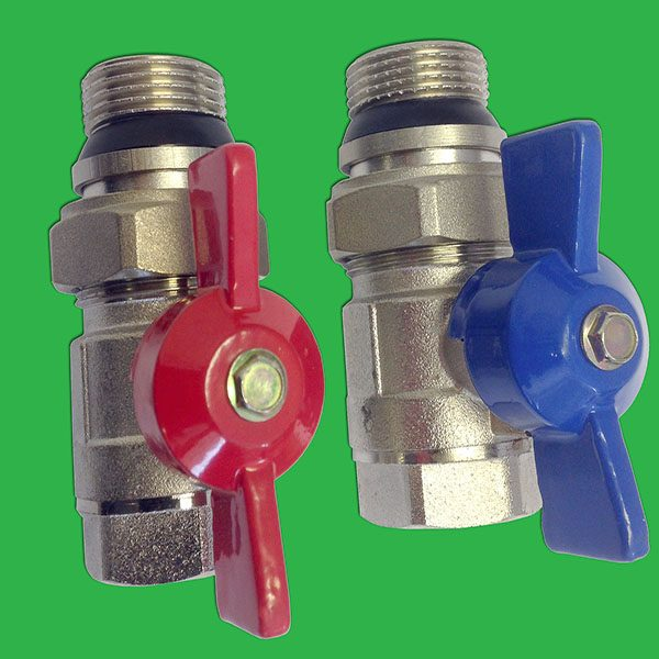 "3/4"" Isolation Ballvalves for Thermomix Valve"