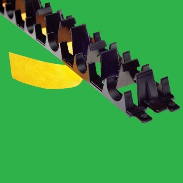 Underfloor Heating Clip Rail Track x 1mtr Self Adhesive