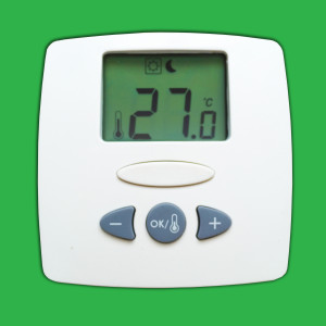Watts Digital Room Thermostat with Optional Set Back & Remote Sensor