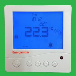 UFH Energymizer Two Channel Programmable Thermostat - UPDU01