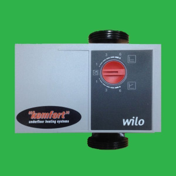 High Efficiency Underfloor Heating Pump Wilo Komfort