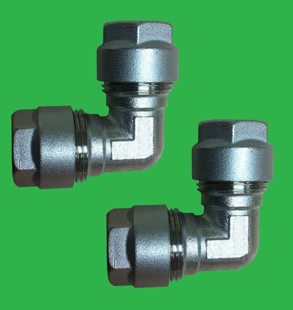 12 x 12mm 1 pr. Elbow Pex - Pert Pipe - UPEL122