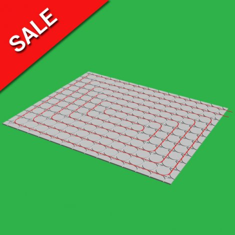 30m2 Overlay Fermacell 18mm High Underfloor Heating System 1