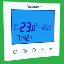 Underfloor Touch Screen Programmable Thermostats