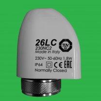 Underfloor Heating Manifold Thermal Actuator Heads