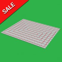 10m2 Fermacell 18mm Overlay Underfloor Heating System & Pump Controls 1