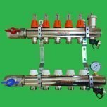Komfort 8 Port Underfloor Heating Manifold,Ball Valves & Flow Meters