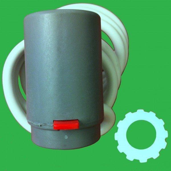 Giacomini Hep2o Underfloor Thermal Actuator 230v 2 wire R473 N.C. ...