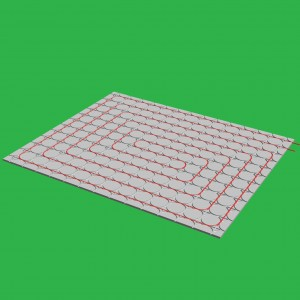 20m² x 18mm Gypsum Overlay Underfloor Heating System & Pump Control Unit