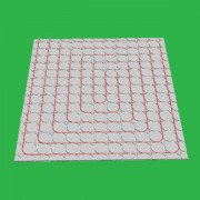 30m2 Overlay Fermacell 18mm High Underfloor Heating System 5