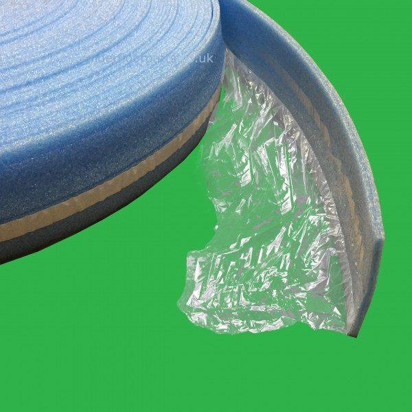 Underfloor Perimeter 50m Self Adhesive Foam Edging Apron