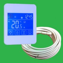 Reliance White Touchscreen Thermostat & Screed Sensor - Probe
