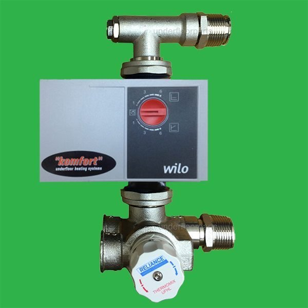 Underfloor Heating Manifold Pump Control Pack Wilo Pump Thermomix Blending Valve