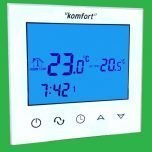 Komfort UFH TouchScreen Glacier White Programmable Thermostat