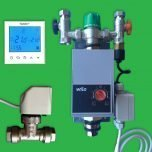 Underfloor Single Circuit Pump Control, Programmable Thermostat & Valve