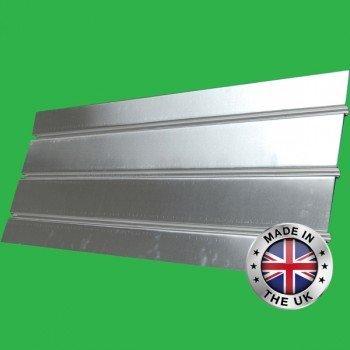 Underfloor Heating Aluminium Triple Groove Spreader Plate