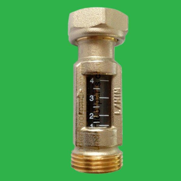 Underfloor Heating Inline Return Flow Meter
