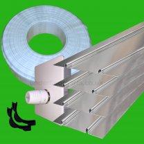 Underfloor Heating 15m2 Plate Kit
