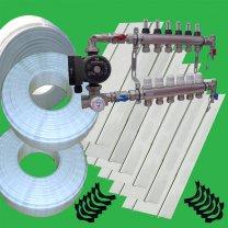 Underfloor Heating Spreader Plate 100 system kit