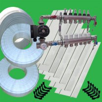 Underfloor Heating Spreader Plate 30 system kit