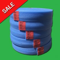5 Rolls x 50 m Underfloor Heating Perimeter Foam Edging Strip