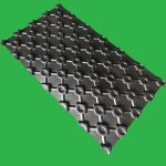 Underfloor Heating Tray 100 mm centre plastic egg crate