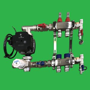Reliance Underfloor 2 Port Manifold and Pump Set