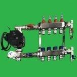Reliance Underfloor 4 Port Manifold and Pump Set