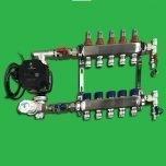 Reliance Underfloor 5 Port Manifold and Pump Set