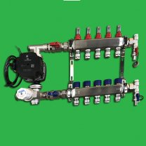 Reliance Underfloor 5 Port Manifold and Pump Set