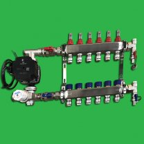 Reliance Underfloor 6 Port Manifold and Pump Set