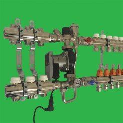 Underfloor Heating Low Temperature and Bathroom Radiator H.T. Manifold