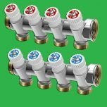 Hot and Cold Plumbing Manifolds