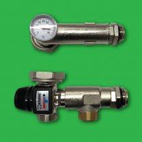 Esbe Thermostatic Underfloor Blending Mixer Valve Thermometer