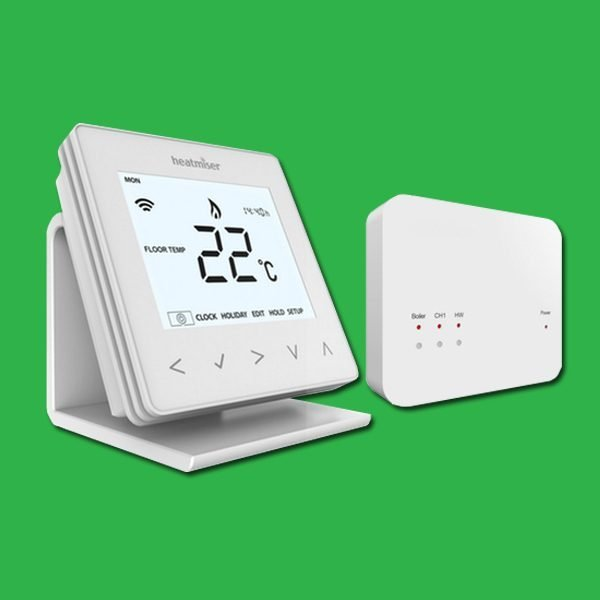 Heatmiser Wireless Thermostat & Receiver Bundle