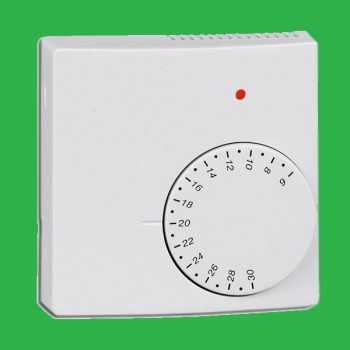 230v Room Thermostat with Night Setback and Remote Sensor Facility