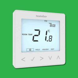 Heatmiser NeoStat Programmable Thermostat 230v - Glacier White