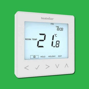 Heatmiser NeoStat Programmable Thermostat 230v - Glacier White