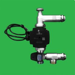 Underfloor Heating Grundfos UPM3 Manifold Pump and T3 Blending Valve Control
