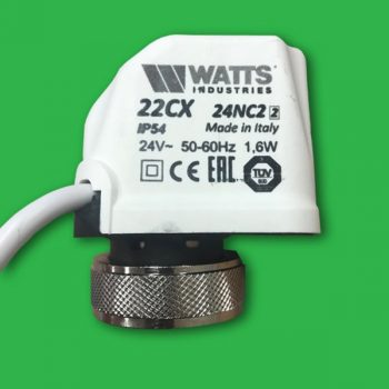 Watts 22CX Actuator Head 24V 2 Wire N/C 22CX24NC2