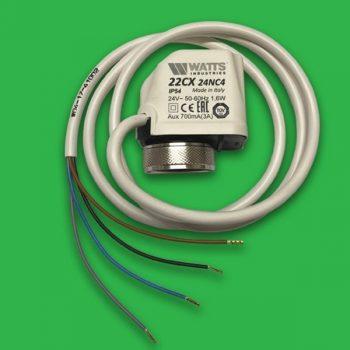 Underfloor Heating Actuator 24V 4 Wire N/C Watts 22C 22C24NC4