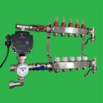 Underfloor Heating Pump and Mixer Control & Manifold